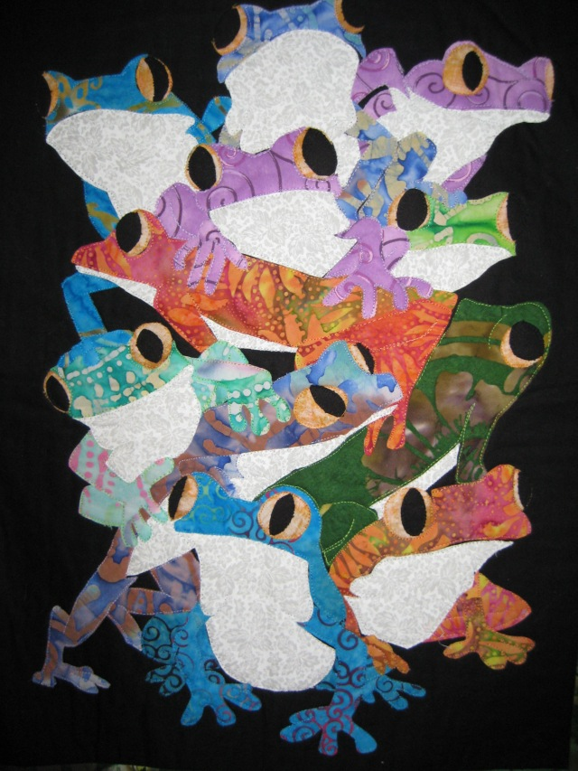Circa 2003, one of my first quilts.
