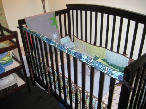 Crib Rail Cover Tutorial