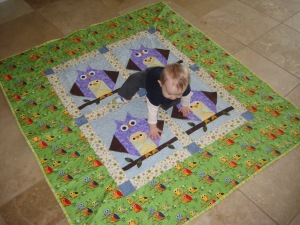 The Owl Quilt