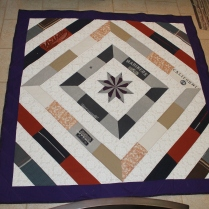 Diamond Family Memory Quilt