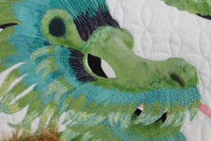 Dragon head detail