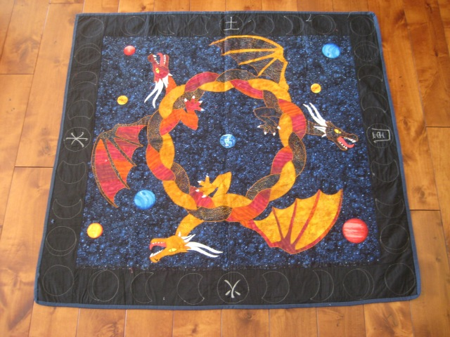 The dragon quilt #1