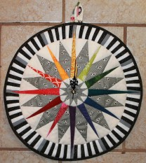 The Quilted CLock
