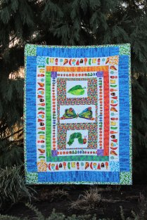 The Hungry Caterpillar Birthday Quilt