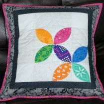 PLayful Petals Pillow