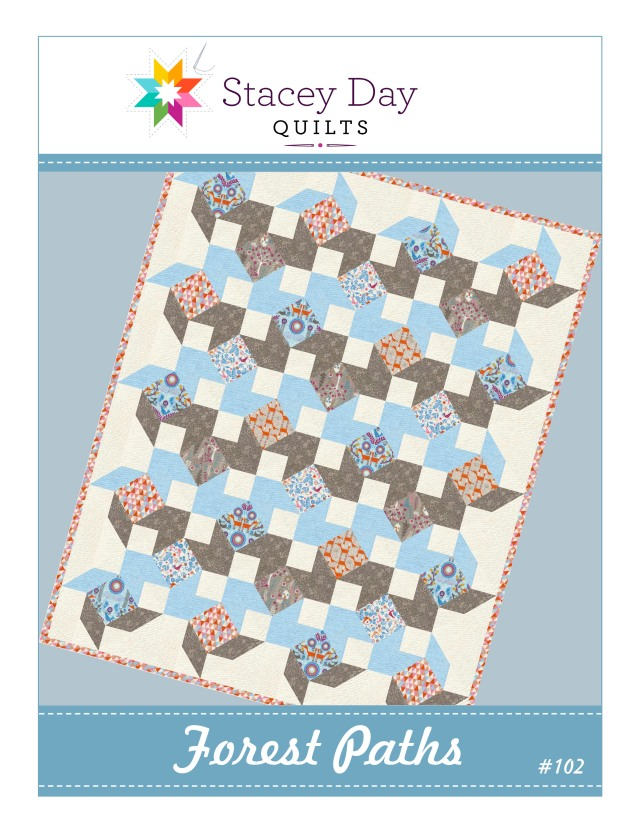 Forest Paths Baby/Toddler Quilt