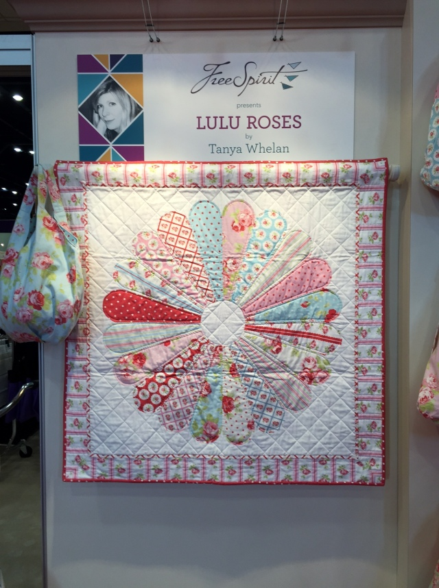 Rose Medallion for Lulu Roses Collection By Tanya Whelan for FreeSpirit