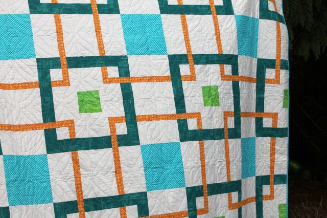 Quilting by Joan Nicholson of Maple Leaf Quilters