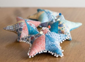 Sea Star Pincushions Designed by Kim Andersson, written by Stacey Day
