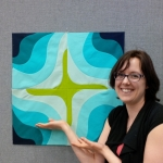 Paperless Paper piecing with Cristy Fincher