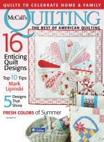 Covergirl! Rose Medallion quilt pattern