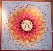 Anemone Quilt Kit- Mendocino Collection