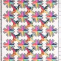 Spectrum Stars Quilt Kit- Craftsy