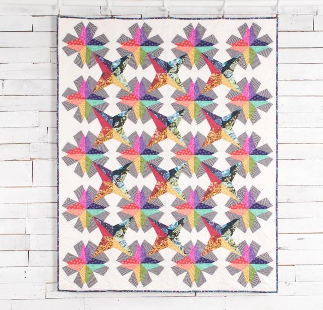 Spectrum Stars Quilt Kit
