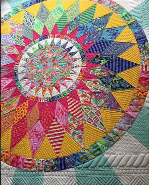 The Catnip Quilt- Image from @tulapink